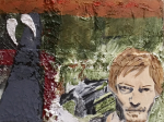 TWD Daryl Dixon Painting multimedia fan art