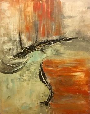 Autumn Impressionism textured painting