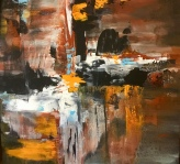 Abstract painting art