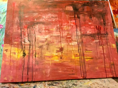 Abstract traditional art